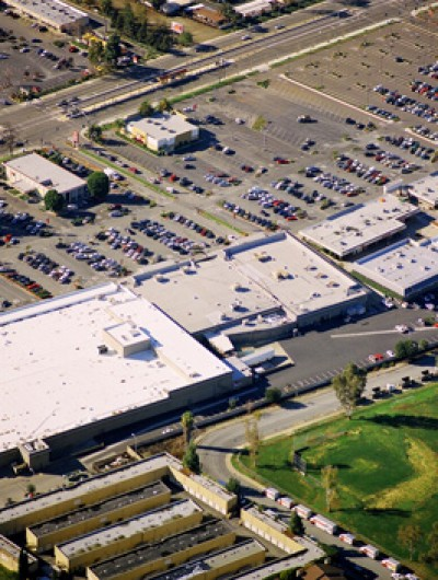 CAPITAL SQUARE SHOPPING CENTER, San Jose - 300,000 sq ft: Single Ply, DuroLast BUR, Maintenance Systems by Henry's
