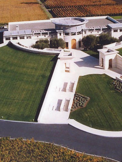 OPUS ONE WINERY, St. Helena - 45,000 sq ft: Fluid Applied, Modified Bitumen, American Hydrotech