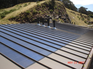 Commercial, industrial, retail business solar panel installer company and services.