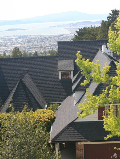 OAKLAND: Composition Shingles, Roof Removal, New Plywood Decking, New gutters