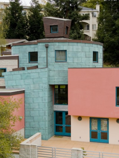 OAKLAND: Copper Roof, copper gutter