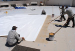 Commercial Roof maintenance coating