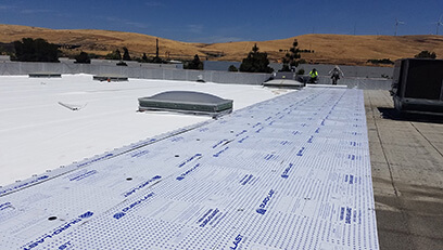 Fidelity Roof material used to repair roof